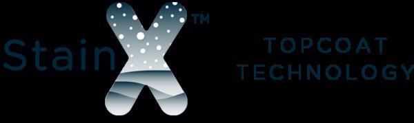 stainX logo x